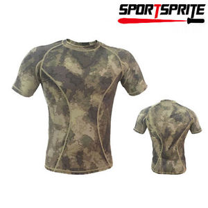 Alcoa Prime Men's Quick Dry Short Sleeve T-Shirt Tops Tee For Hunting Fishing (Asia Size XL)