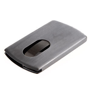 Case box Visit / Credit card holder in Stainless Steel LW