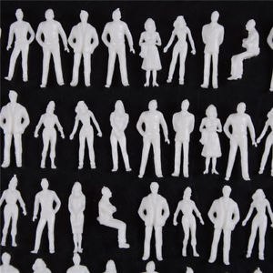 10 PCS 1:50 scale model human scale HO model ABS plastic peoples WF