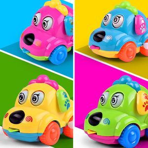 Alcoa Prime Classic Cartoon Running Car Wind Up Clockwork Baby Toddler Kids Toy Gift Healthy