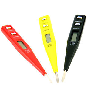 1 * LCD Digital AC/DC Voltage Detector Continuity Tester Pen