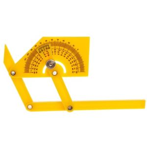 Goniometer Angle Finder Miter Gauge Arm Measuring Ruler Tool Plastic Protractor