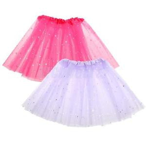 Alcoa Prime 2pc Girl Kid Star Sequins Tutu Skirt Party Ballet Dancewear Dress Clothes