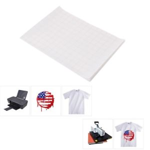 5 Sheet A4 Size Iron On T-Shirt Transfer Inkjet Heat Transferring Printing Paper