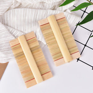 1Pc Double Sided Nit Fine Tooth Head Lice Hair Combs for Kids Pet Flea Wooden@