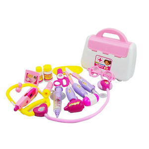 Kids Pretend Doctor's Medical Playing Set Case Education Kit Role Play Toy Gift