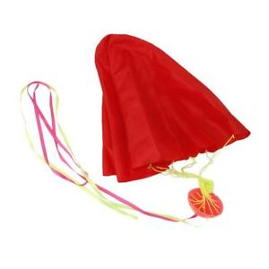 65cm Hand Throw Mini Parachute Classic Outdoor Funny Toys Birthday Gift Red