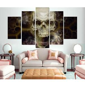 Alcoa Prime Canvas Skull Modern Home Wall Decor Art Oil Painting Picture Print NoFrame L