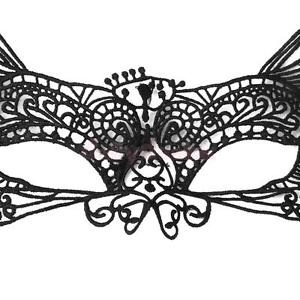 Alcoa Prime Stunning Lace Venetian Masquerade Big Ear Eye Mask Party Fancy Ball Costume