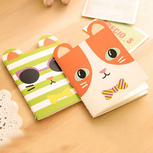 2X Cartoon Animals Style Notebook Creative Stationery Notepad Office Supplies LA