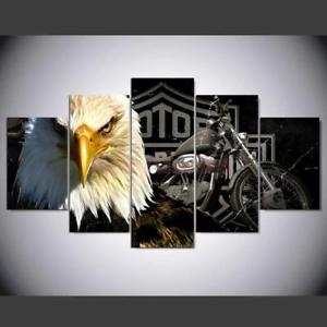 Alcoa Prime DIY Canvas Modern Deco Wall Painting Falcon Eagle No Framed 30*50/70/80cm L