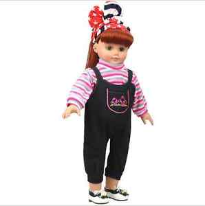 "Alcoa Prime Fits 18"" American Girl Madame Alexander Handmade Doll Clothes dress"