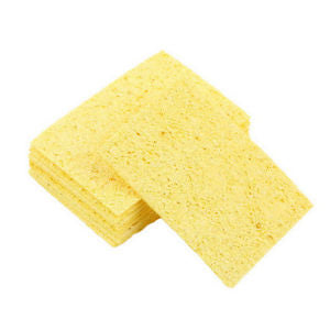 10pcs Soldering Iron Solder Tip Welding Cleaning Sponge 5cm*3.5cm*1mm TB