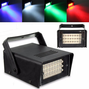 Alcoa Prime 24 LED Stage Effect Lighting Mini Projector Disco Party Club DJ Bar Light Lamp