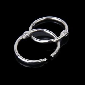 Alcoa Prime Hot Sale!10x Hinged Rings for Scrapbooks Albums - 45mFree  K1N3