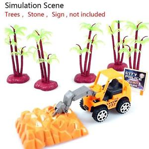 Hot Kids Child Construction Forklift Truck Car Die-cast Model Play Game Gift Toy