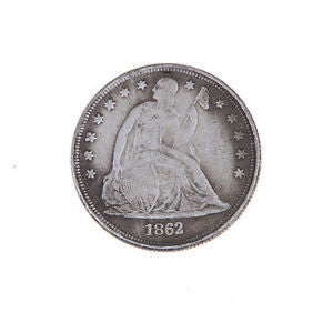1862 US The Statue of Liberty Commemorative Coins Old Mexican Old Coin LE VI