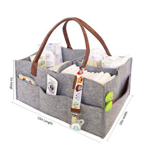 Alcoa Prime Baby Diaper Caddy Infant Nursery Organizer Nappy Basket Maternity Mother Supply