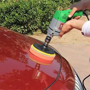 7pcs Gross Polishing Buffing Pad Kit for Car Polishing With Drill Adapter #L