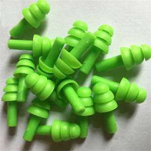 20Pcs Silicone Ear Plugs Anti Noise Snore Earplugs Comfortable For Study Sleep**