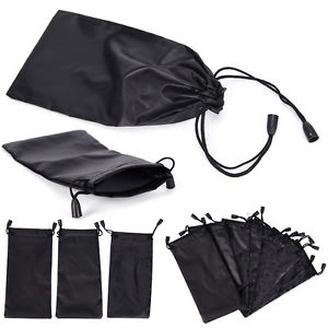 3Pcs Microfiber Pouch Bag Soft Cleaning Case Sunglasses Eyeglasses Glasses LE