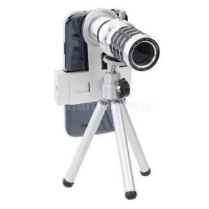 12x Optical Zoom Telephoto Lens Phone Telephoto Telescope Lens Mini Tripod