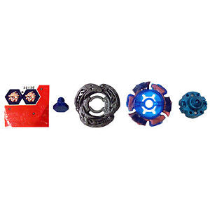 Metal Master Beyblade L-Drago Destroy F:S BB108 Battle Launcher Grip 4D System