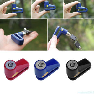 Security Solid and Durable Heavy Duty Motorcycle Moped Scooter Disk Lock FXG5