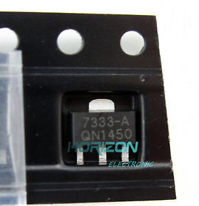 Alcoa Prime 100PCS 3.3V SOT-89 Low Power Consumption LDO Voltage Regulator HT7333 HT7333-A