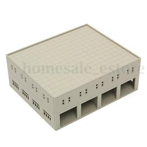 Train Railway Modern Garage / Logistics Centre Unpainted N Scale Outland Models