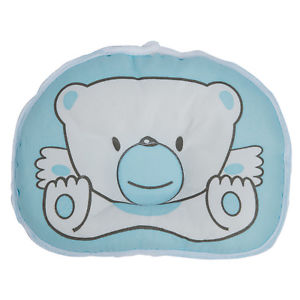 Alcoa Prime Cute infant pillow with pattern Bear prevent flat head. K4I5