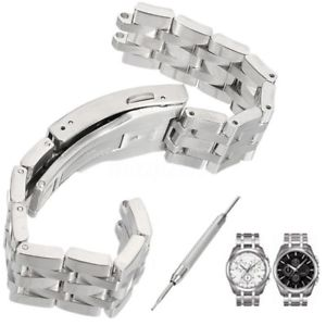 19mm Replacement Stainless Steel Watch Band For Tissot PRC200 T17 T461 T014 T41