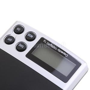 Digital Food Scale Kitchen or Jewelry Scale w/ LCD Display and Tare Function