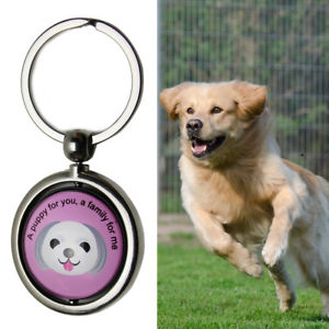 Alcoa Prime Pet Dog Anti Lost Pendant Keychain ID Tag QR Code Tracker Wireless Locator Noted