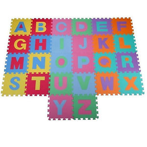 New 36pc Soft EVA Foam Baby Children Kids Play Mat Alphabet Number Puzzle Jigsaw