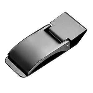Alcoa Prime Men's Stainless Steel Pocket Cash Money Clip Wallet Holder Fitted Design L7V8