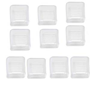 Obedient Chair Furniture Square 12mmx12mmx6mm Self Adhesive Rubber Pads 12 In 1 Tools