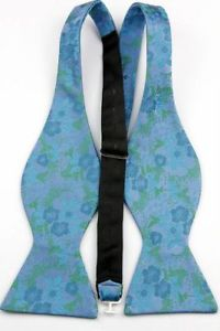 Alcoa Prime GT095 MENS PLAIN Self Tie Bow Tie Men's Self-Tie silk bow tie Bowtie Untied Pro