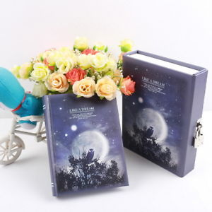 """Like A Dream"" 1pc Luxury Notebook Diary Planner Journal Lock Box Gift Package T"