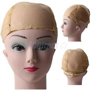 Alcoa Prime Nude Stretchable Elastic Hair Nets Snood Wig Cap Cool Mesh New Cosplay