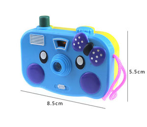 Kid Children Baby Educational Toy Study Camera Take Photo Animal Learning Gift~
