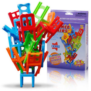 """Balance Chairs"" Board Game Children Educational Toy Balance High Quality"