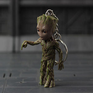 Alcoa Prime Baby Groot NIB Push Bomb Button Key Chain Figure Guardians of the Galaxy Vol.2