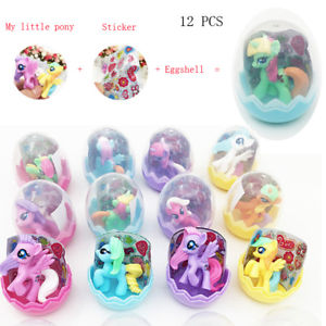 My Little Pony Cake Toppers Little Figure Toy Magic Rainbow Dash Gift For Girl
