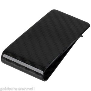Alcoa Prime Premium Hybrid Carbon Fiber Money Clip - Glossy Finish