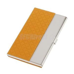 Alcoa Prime Stainless Steel Business Card Name ID Card Holder Case Organizer- Gold