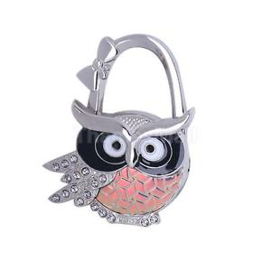 Folding Owl Design Brilliant Handbag Purse Hanger Hook H for Ladies Combo