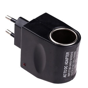 EU Plug 220V AC Power to 12V DC Car Cigarette Lighter Converter Adapter ITBU HOT
