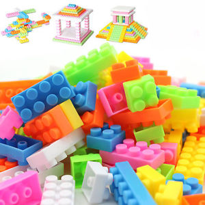 144pcs Colorful Plastic Building Blocks Children Kids Puzzle Educational Toy