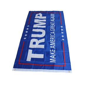 Wholesale Donald J. Trump 3x5Foot Flag Make America Great Again for President QW